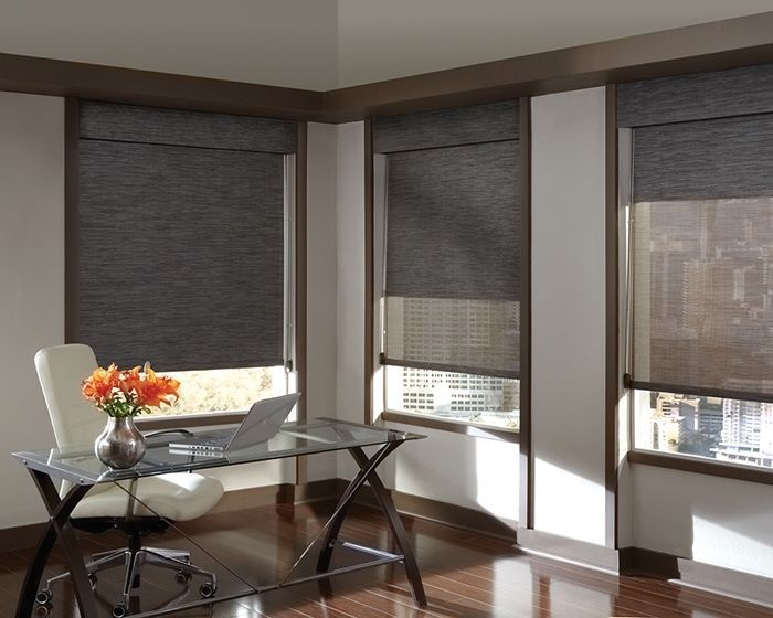 Zeitgenössische Fenstervorhänge | Moderne fenster, Fensterrollos .
