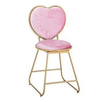 Amazon.de: Uioy Gepolsterte Stuhl-Mädchen Dressing Hocker .