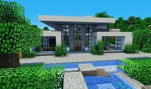 Moderne Hauser Minecraft Nice Modern Style House Haus Ideen .