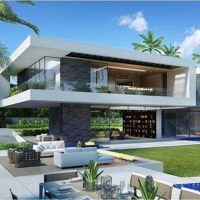 Moderne Luxus Haus Designs | Mehr auf unserer Website | #Moderne .