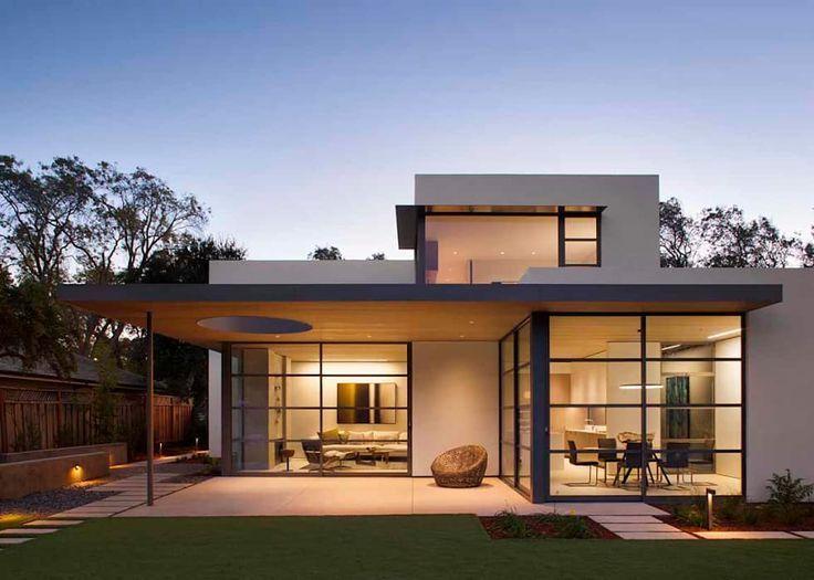 Moderne Häuser von Feldman Architecture | Modern minimalist house .
