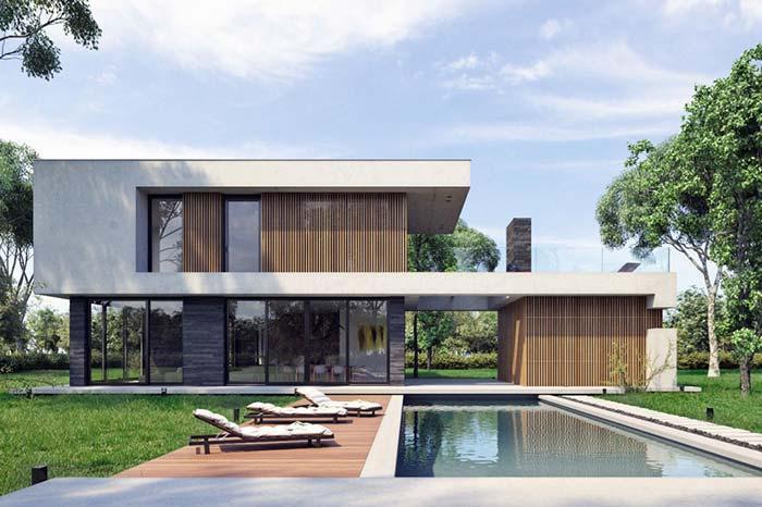 Moderne Häuser: Entdecken Sie 100 Modelle von innen und außen .