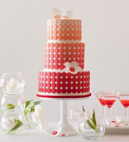 Moderne Hochzeits- - Ombré Kuchen #2053507 - Weddbo