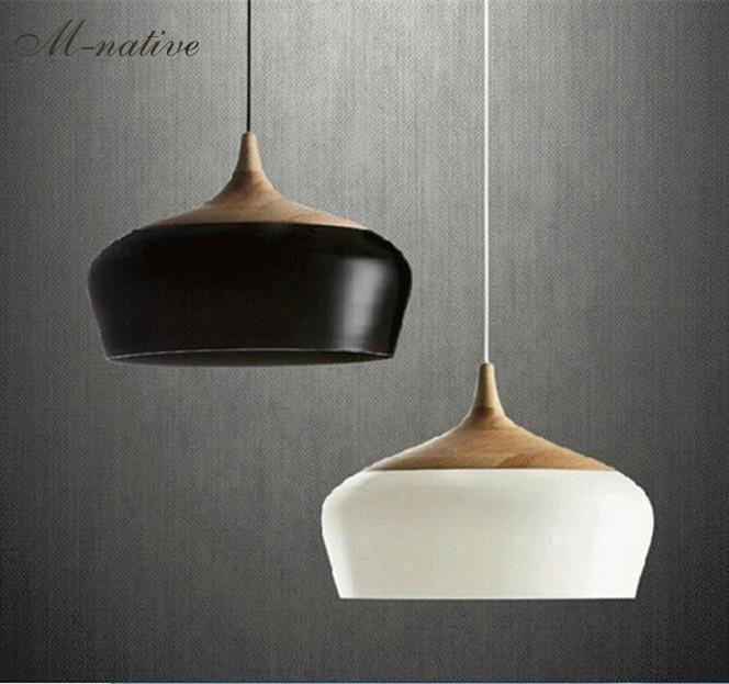 Schicken Mehr Pendelleuchten Information über Holz lampe Moderne .
