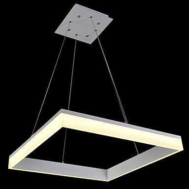Kai 40 W Quadratisch LED Moderne Pendelleuchte, 100 ~ Eingang Cold .