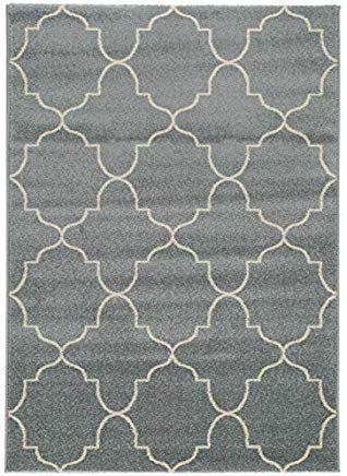 benuta Teppich Justin Türkis 120x170 cm | Moderner Teppich für .