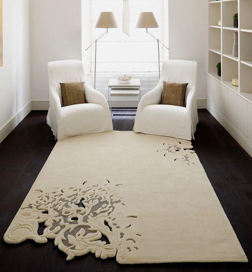 Moderne Teppiche mit dreidimensionalen Ornamenten | Moderne .