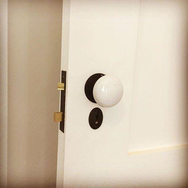 Tate Weiß-Porzellan-Innentür-Regler   Innentüren, Innenstalltüren .