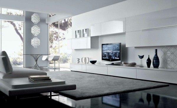 38 Ideen für weißes Wohnzimmer – Wohnideen mit Reinheit und .