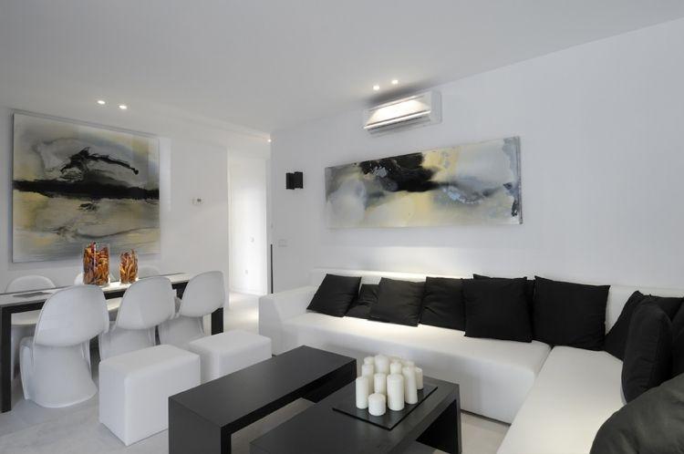 Weiße Wohnzimmermöbel – 55 moderne Einrichtungsideen   Wohnzimmer .