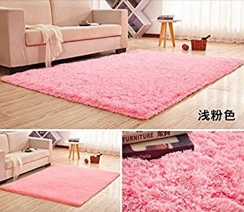 GRENSS 12 Größen Super weicher Seide Wolle Teppich innen Modern .