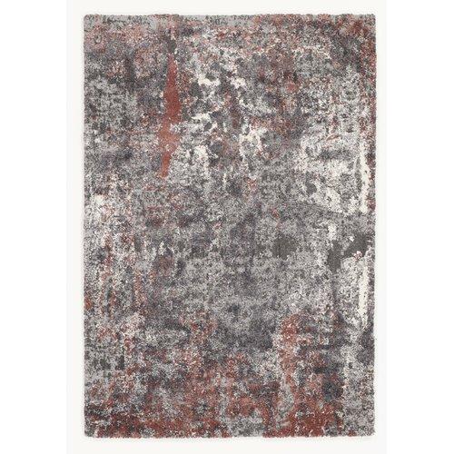 Glessite Red/Grey Shag Rug Canora Grey Rug size: Rectangular 240 x .