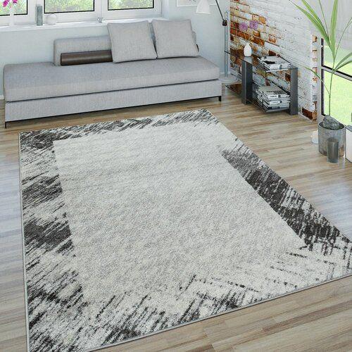 Shaggy-Teppich Cleary in Grau LoftDesigns Teppichgröße: Rechteckig .