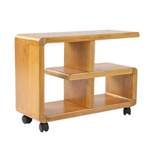 L-Life End Tables Side Table Solid Wood Bookcase Corner Cabinet .