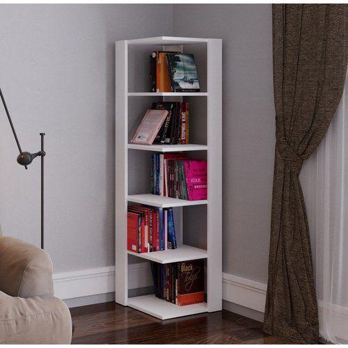Bücherregal Conley ModernMoments Farbe: Weiß in 2020   Bookcase .