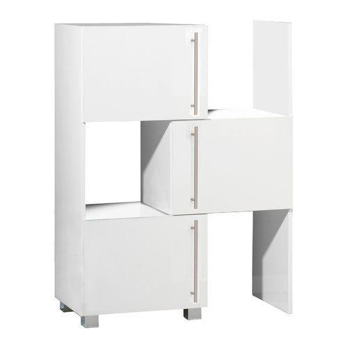 Bücherregal Mahlum Brayden Studio Farbe: White   Adjustable .