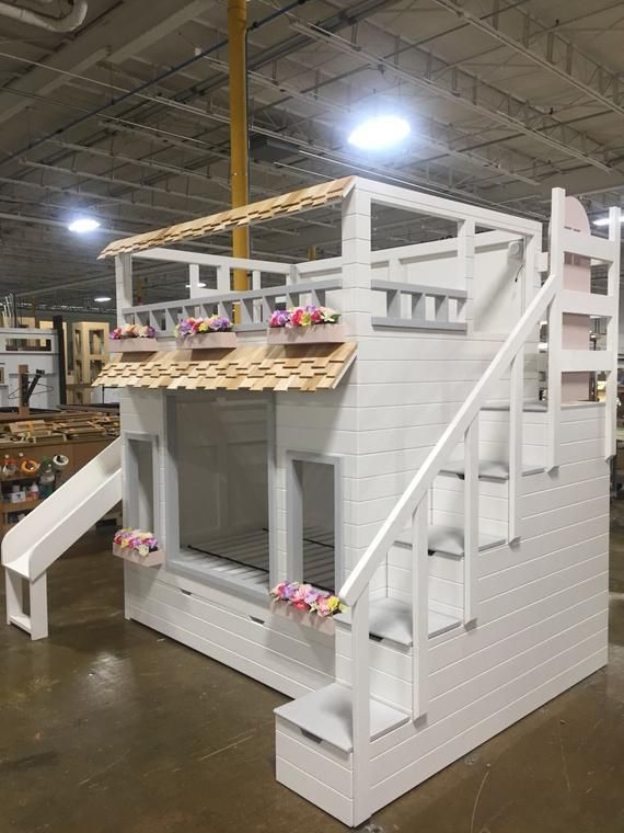 Haylie's Garden Villa Bed, Offered as a Loft or Bunk Bed w .