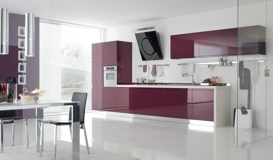 Die 41 Besten Lila Modulare Küche | Küche zusammenstellen, Küchen .