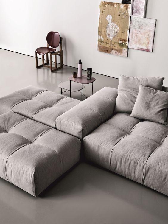 Modulares Sofa aus Stoff PIXEL   Sofa aus Stoff - Saba Italia .