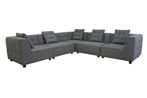 Sitzmöbel – Schnitt mit Schlafsofa   Modulares sofa, Sofa und Sof