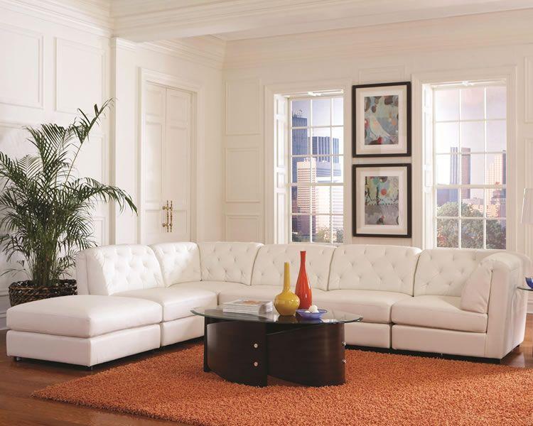 Bezaubernde Modular Leather Sectional Sofa Leder Schnitt Sofa .