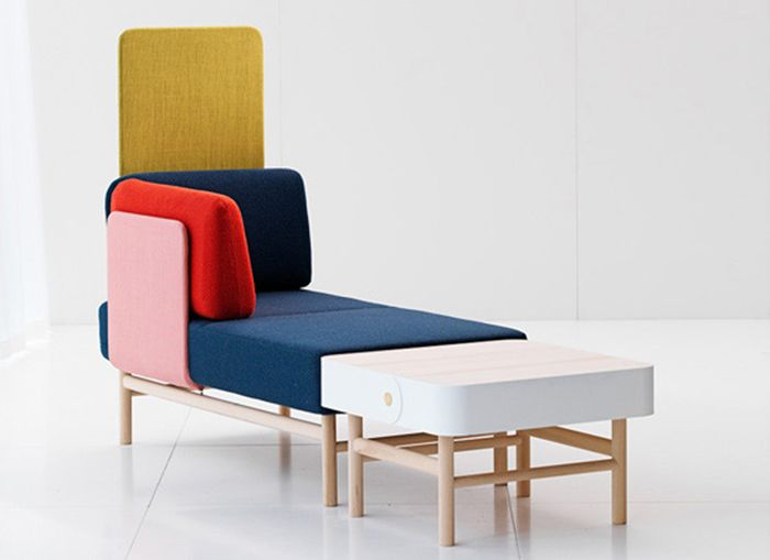 The sofa Pop from Gärsnäs by Patrik Bengtsson & Pierre Sind