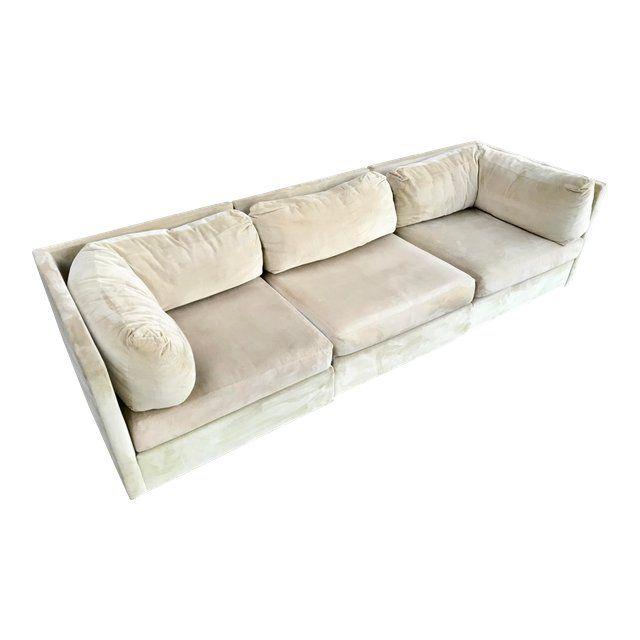 Milo Baughman for Selig Modular Sectional Sofa For Sale | Ecksofas .