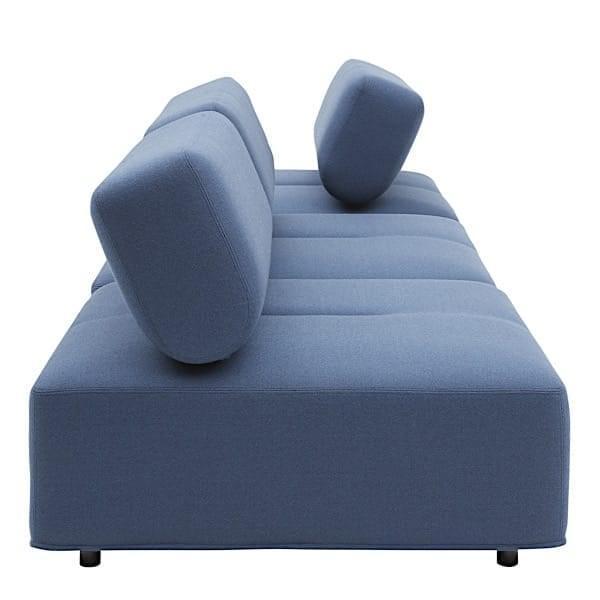 CABALA, modular sofa with its large ottoman, an ingenious desig