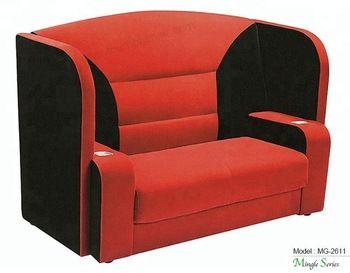 Pflege und Pflege des Love-Seat und des Stuhls   Heimkino .