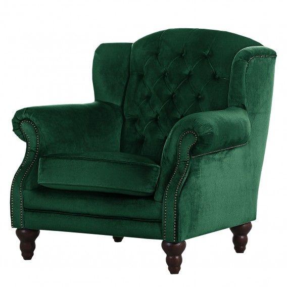 Ohrensessel Jenner II Samt | Armchair, Furniture, Home dec