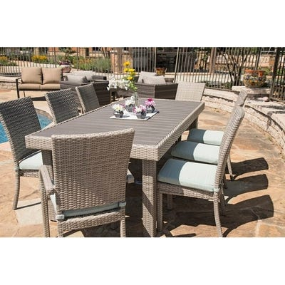 Buy Size 9-Piece Sets Outdoor Dining Sets Online at Overstock .