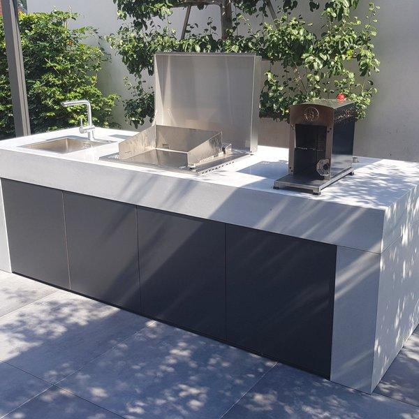Design-Outdoor Küche aus Bet