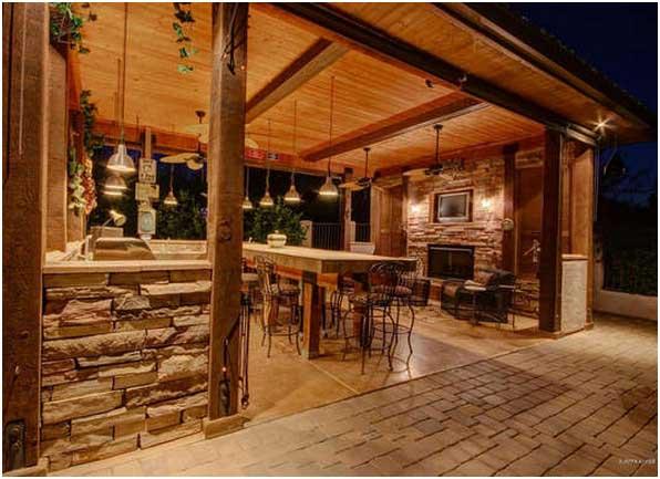 Überdachte Outdoor Küche Design Ideen - Gualber