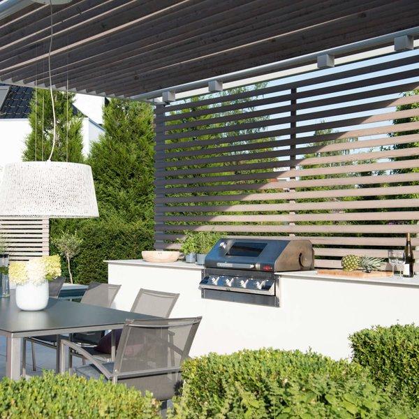 Design Outdoorküche mit BeefEat