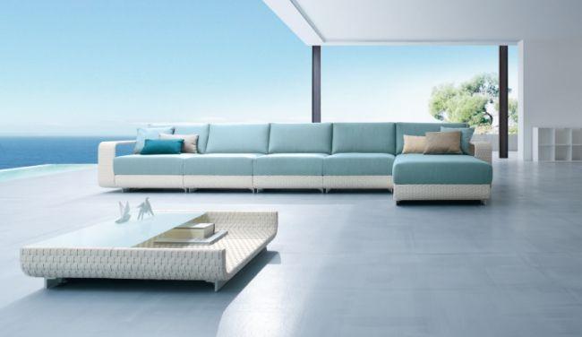 Rattan Lounge Möbel für Terrasse und Garten von Roberti Rattan .