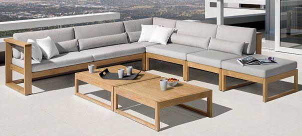 """Lounge Gartenmöbel """"Vinci"""" online kaufen bei thomasgardener.de ."""