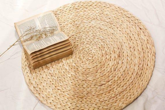Wasserhyazinthe handgewebte natürliche Runde ovale Teppich .