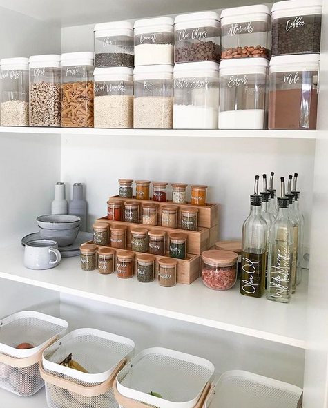 20 of the coolest Kmart hacks EVER! | Pantry organisation, Small .