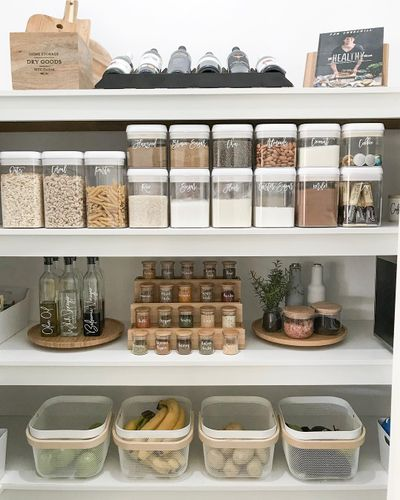 How to organise your pantry: Woman's organisation hack goes viral .