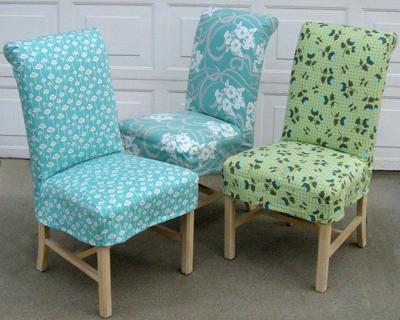 Parsons Chair Slipcover PDF format Sewing Pattern Tutorial .