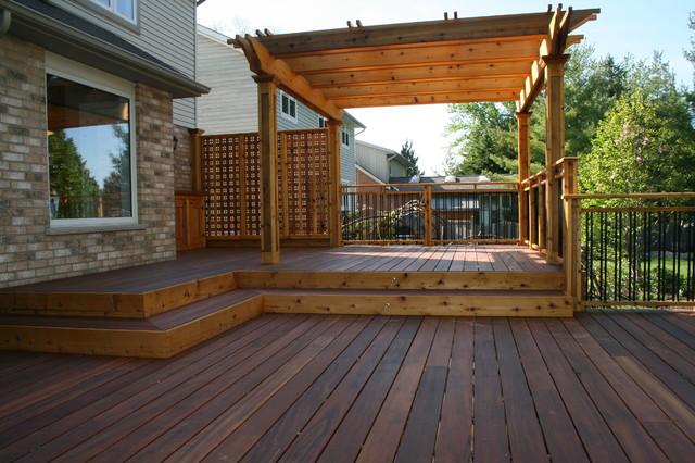 Garden Decks - Contemporary - Patio - Toronto - by JWS Woodworking .