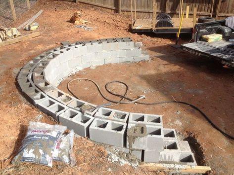 Paver patio fire pits #paver #patio , fertiger terrasse .