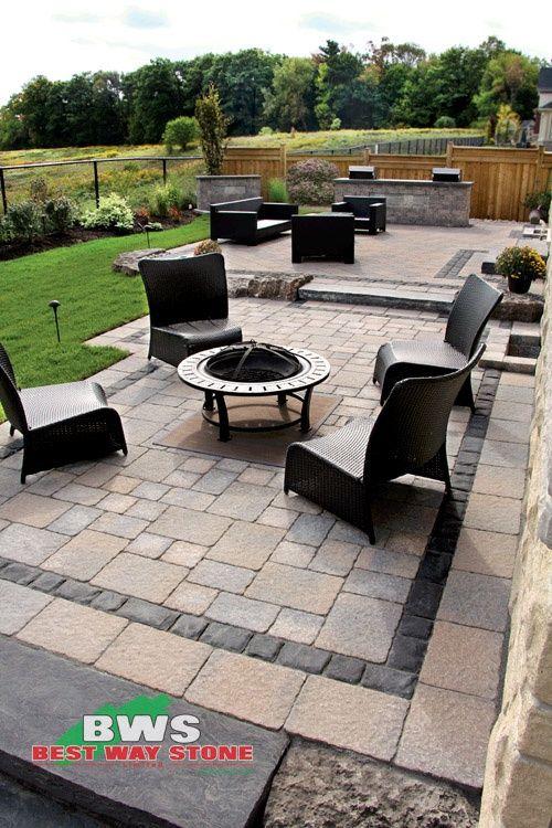 outdoor #patio: Best Way Stone> Fertiger: Bellagio Antico (Beige .