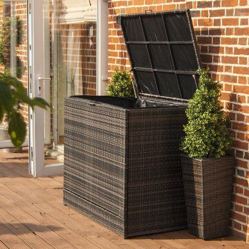 Cool Patio Kissen-Lagerung-Ideen #Garten | Rattan gartenmöbel .
