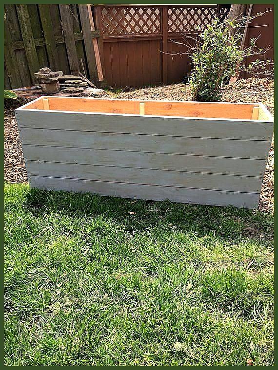 Zeder Pflanzer / Pflanzer Box / Outdoor Lagerung / Holz Pflanzer .