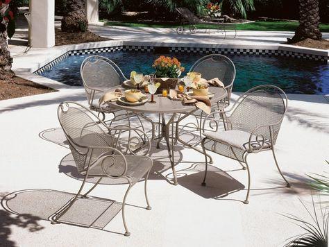 40 schmiedeeiserne Terrassenmöbel-Sets für einen stilvollen .