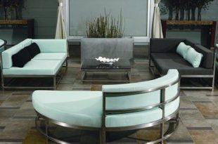 Moderne Metallmöbel für den Außenbereich # Möbel # Metall #Modern .