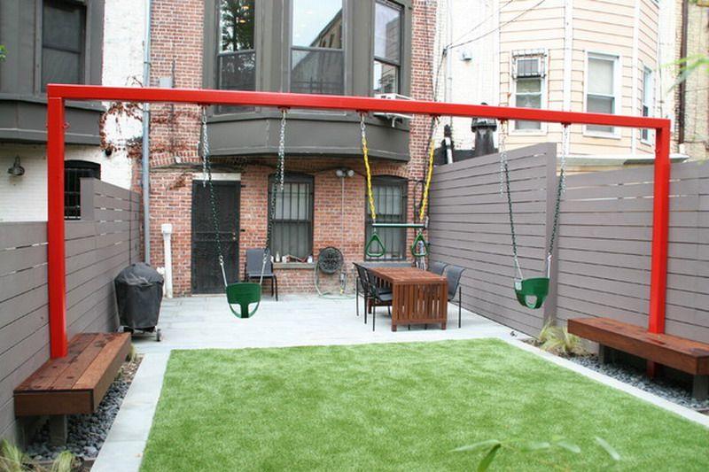 Modern Kids Outdoor Patio Swing Sets - Best Patio Design Ideas .