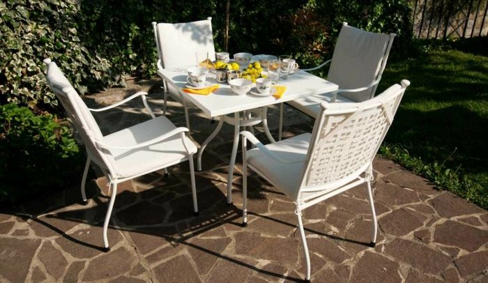 Gartenstühle Alu - eine wunderbare Option für den Außenbereich .