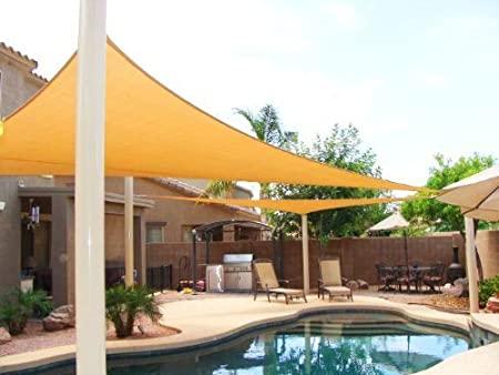 Amazon.com : Big 20'x20'x20' Oversized Triangle Garden Patio Sun .